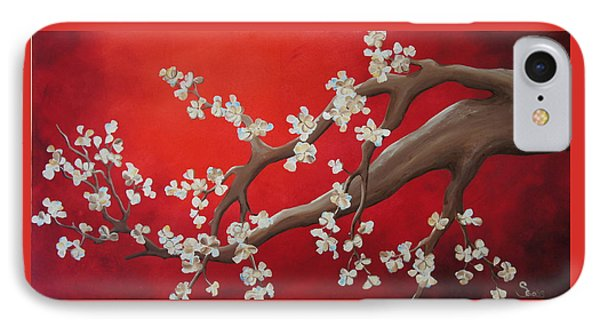 Cherry Blossom Painting IPhone Case