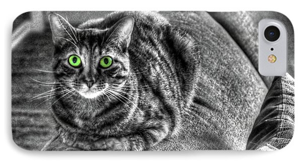 Wide Eyes IPhone Case