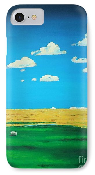 Wide Open Spaces And A Big Blue Sky IPhone Case