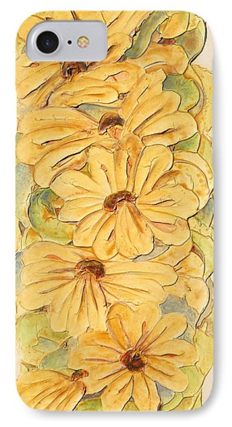 Wild Flower Abstract IPhone Case