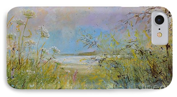 Wild Grasses Of Saugatuck IPhone Case