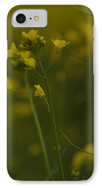 Mustard iPhone 8 Case - Wild Mustard by Bill Gallagher