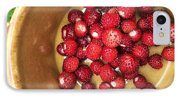 Wild Strawberry IPhone Case