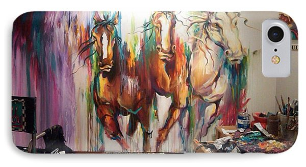 Wild Wild Horses IPhone Case