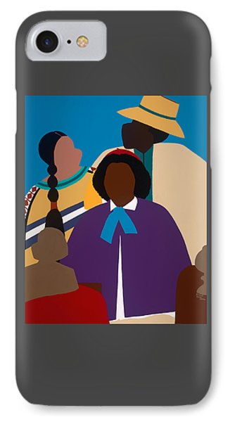 iPhone 8 Case - Wildfire A Tribute To Edmonia Lewis by Synthia SAINT JAMES