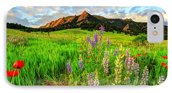Wildflower Mix IPhone Case