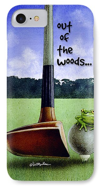 Will Bullas Phone Cover / Out Of The Woods IPhone Case