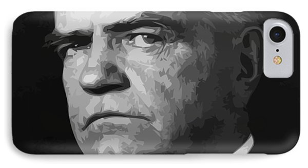 Bull iPhone 8 Case - William Bull Halsey by War Is Hell Store