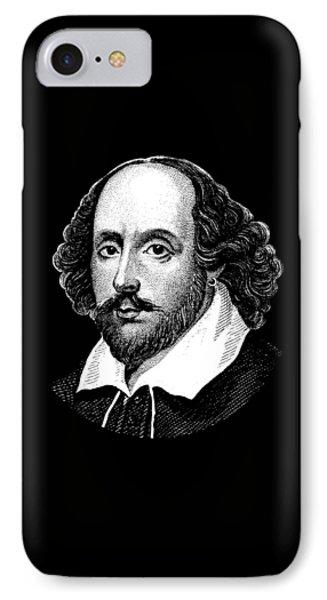 William Shakespeare - The Bard  IPhone Case