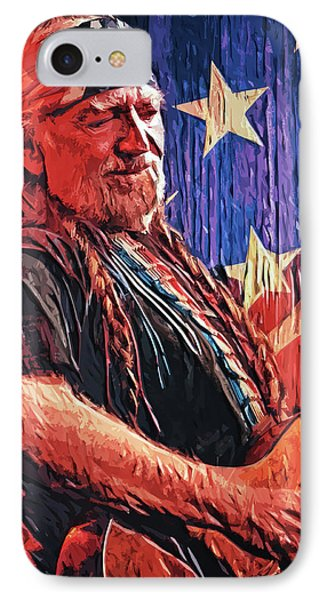 Willie Nelson IPhone Case
