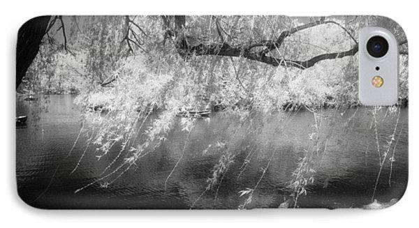 Willow Tree Lake II IPhone Case