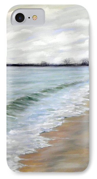 Willow's Beach Study IPhone Case