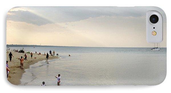 Wilmette Beach Labor Day 2009 IPhone Case