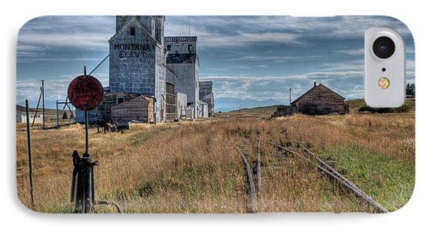 Wilsall Grain Elevators IPhone Case