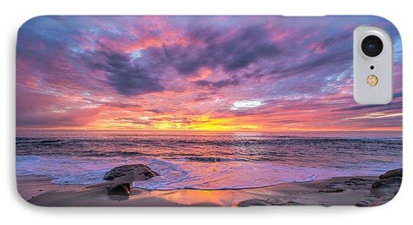 Windansea Beach Sunset IPhone Case