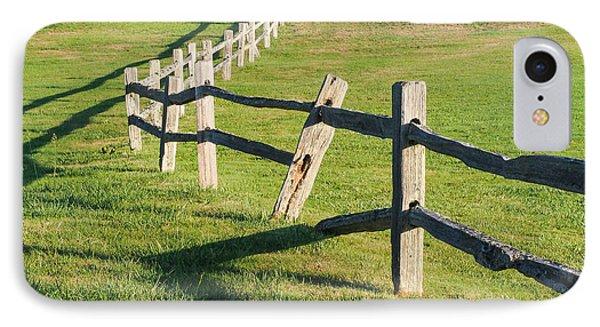 Winding Fences IPhone Case