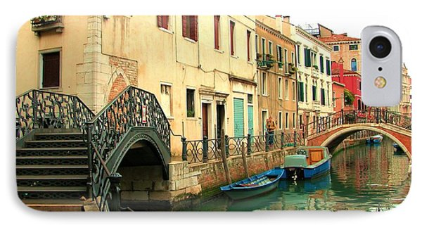 Winding Through The Watery Streets Of Venice IPhone Case
