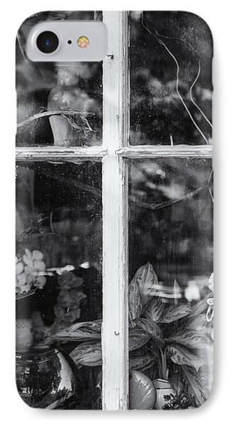 Window In Black And White IPhone Case