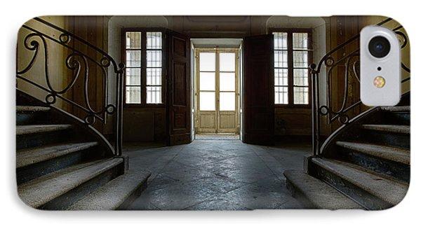 Window Light On Dark Stairs IPhone Case