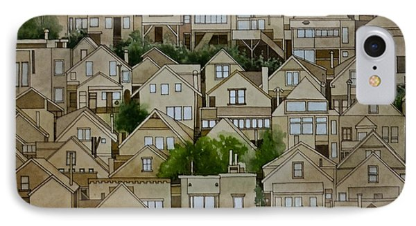 Windows Of Bernal Heights IPhone Case