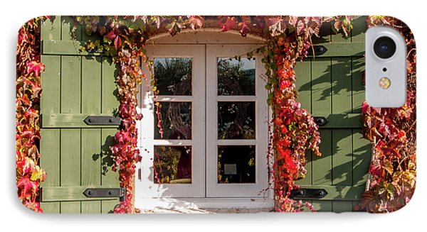 Window,shutters,and Fall Colors IPhone Case