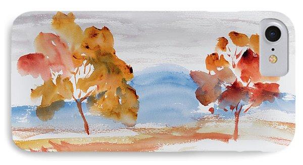 Windy Autumn Colours  IPhone Case