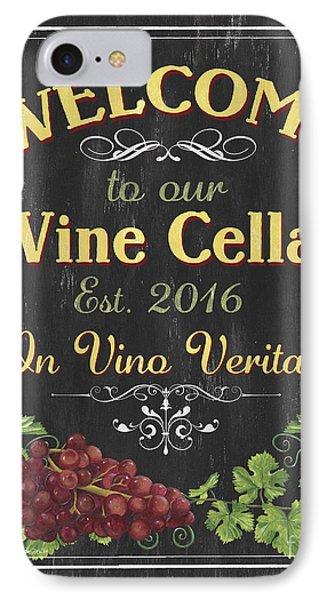 Wine Cellar Sign 1 IPhone Case