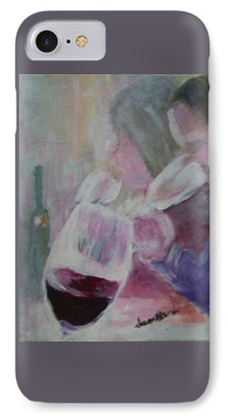 Wine Sipping IPhone Case