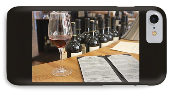 Wine Tasting At Artesia Winery Napa Valley IPhone Case