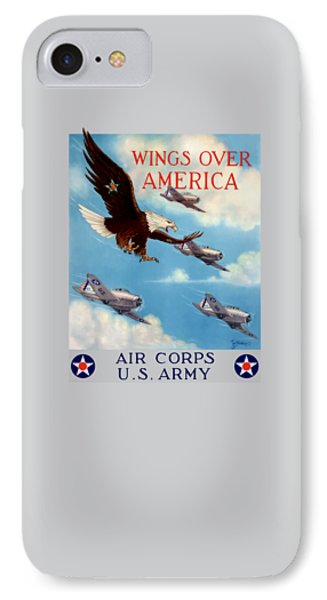 Wings Over America - Air Corps U.s. Army IPhone Case