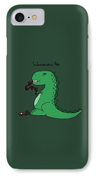 Winosaurus Rex IPhone Case