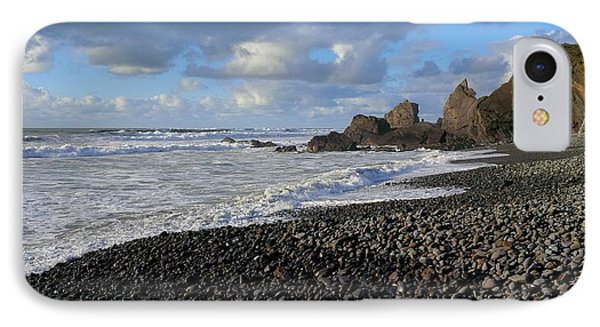 Winter At Sandymouth IPhone Case