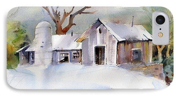 Winter Barn IPhone Case