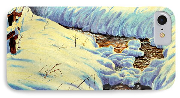 Winter Brook IPhone Case