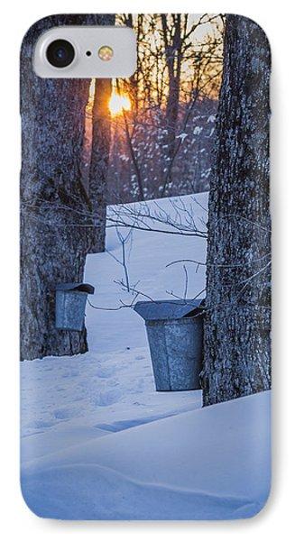 Winter Buckets IPhone Case
