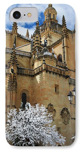 Winter Cathedral IPhone Case