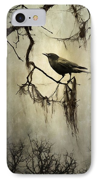Winter Crow IPhone Case