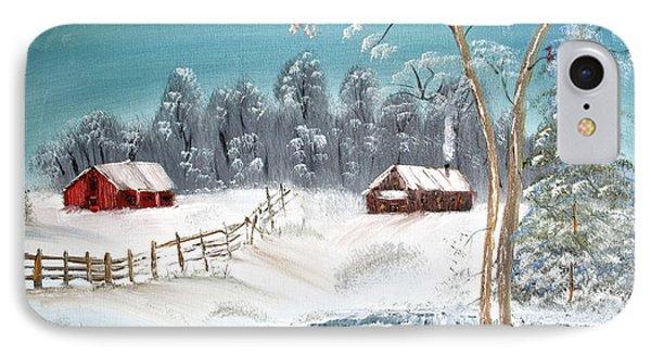 Winter Farm IPhone Case