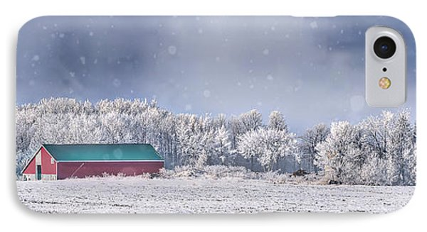 Winter Grey County IPhone Case