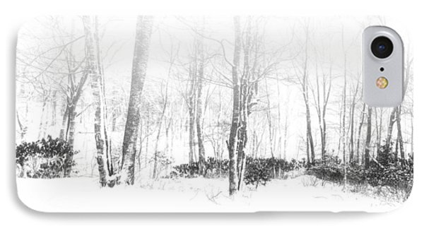 Snowy Forest - North Carolina IPhone Case