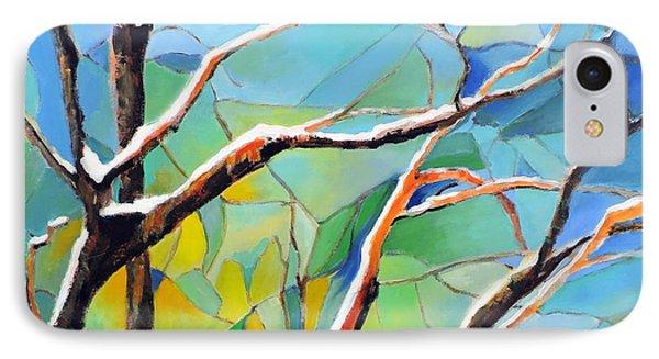 Winter Locust Tree IPhone Case