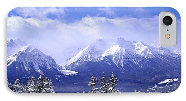 Mountain iPhone 8 Case - Winter Mountains by Elena Elisseeva