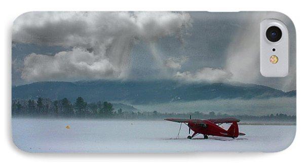 Winter Plane IPhone Case