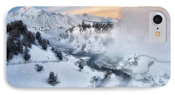Winter Steam  IPhone Case