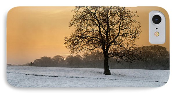 Winters Morning IPhone Case