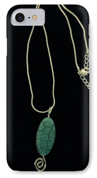 Wire Wrapped Pendant IPhone Case