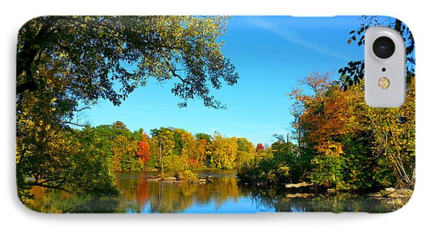 Wisconsin River Colors 2 IPhone Case