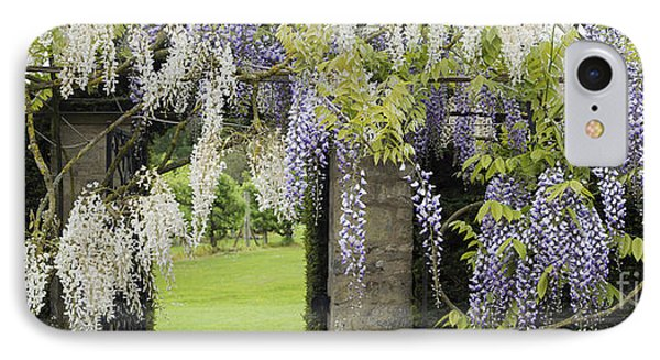 Wisteria Doorway IPhone Case