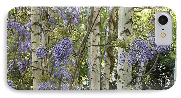 Wisteria Floribunda Panoramic IPhone Case