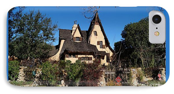 Witch's House Beverly Hills California IPhone Case